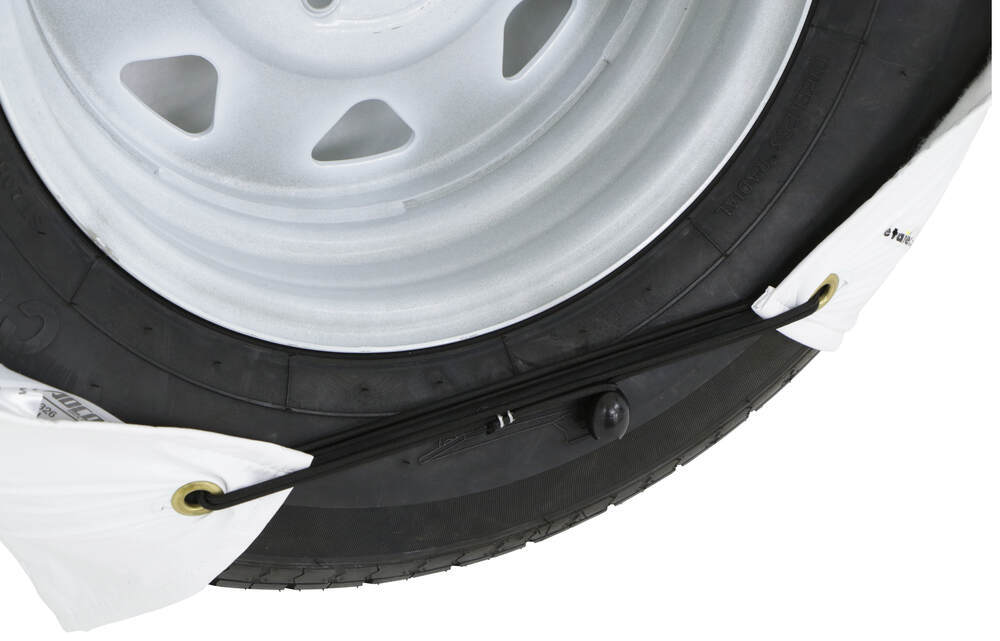 Black Vinyl ADCO Tyre Gard Wheel Cover for 36 to 39 inches Tire Diameter