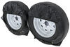 "Adco Ultra Tyre Gard RV Wheel Covers - Single Axle - 40"" to 42"" - Vinyl - Black - Qty 2 40 Inch Tires,41 Inch Tires,42 Inch Tires 290-3977"