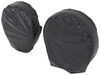 "Adco Ultra Tyre Gard RV Wheel Covers - Single Axle - 40"" to 42"" - Vinyl - Black - Qty 2 Wheel Covers 290-3977"