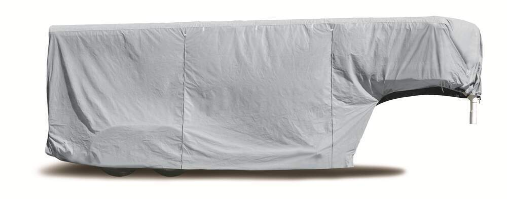 Adco SFS AquaShed Cover for Gooseneck Horse Trailer - Up to 24-1/2' Long - Gray Horse Trailer Covers 290-46011