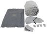Adco SFS AquaShed RV Cover for 5th Wheel Camper - Up to 23' Long - Gray Gray 290-52251