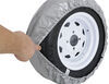 """Adco Spare Tire Cover - 21-1/2"""" Diameter - Vinyl - Diamond Plate Diamond Plate 290-9760"""