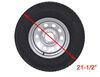 """Adco Spare Tire Cover - 21-1/2"""" Diameter - Vinyl - White Spare Tire Cover 290-1760"""