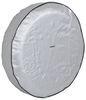 "Adco Spare Tire Cover - 21-1/2"" Diameter - Vinyl - Diamond Plate Spare Tire Cover 290-9760"