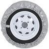 "Adco Spare Tire Cover - 21-1/2"" Diameter - Vinyl - Diamond Plate 21-1/2 Inch Tires 290-9760"