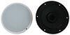 """Quest Indoor RV Speaker - Recessed Mount - 6-1/2"""" Diameter - 50 Watts - White - Qty 1 White 292-100149"""