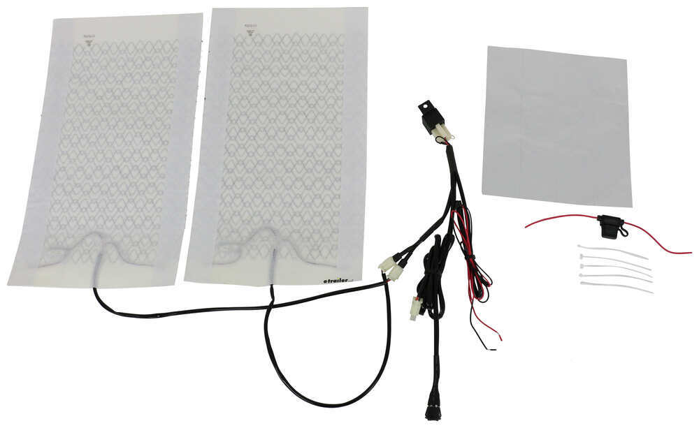 AAMP Universal Heat Seat Kit - 4 Heating Surfaces - 2 Function Switch 292-101736