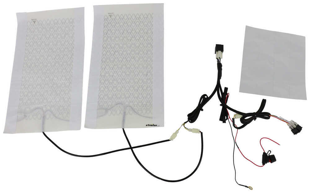 AAMP Universal Heat Seat Kit - 2 Heating Surfaces - 2 Function Switch 292-101823