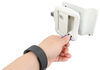 Global Link RV Entry Door Locking Latch Kit with Keyed Alike Option - White Entry Door 295-000021