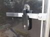 Global Link Vise Lock for Cam-Action Door Latch - Keyed Alike Option - Black 6-1/4 Inch Long Lock 295-000024