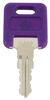 Replacement Key for Global Link RV Locks - 334 - Qty 1 Keys 295-000060