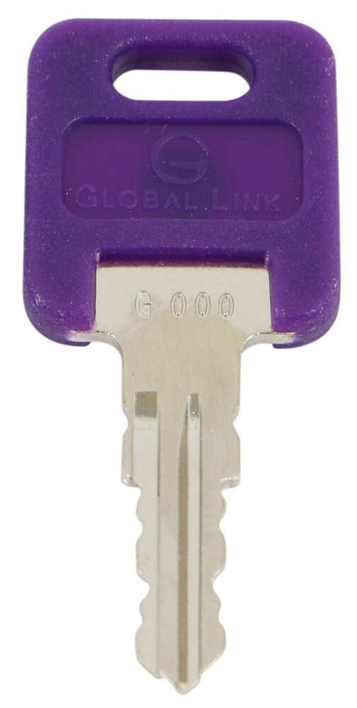 Replacement Key for Global Link RV Locks - 335 - Qty 1 Keys 295-000061