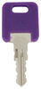 Replacement Key for Global Link RV Locks - 340 - Qty 1 Keys 295-000066