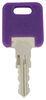 Replacement Key for Global Link RV Locks - 349 - Qty 1 Keys 295-000075