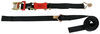 "ShockStrap Ratchet Tie-Down Strap w Shock Absorber - 2"" x 18' - 2,000 lbs - Qty 1 1501 - 2000 lbs 297-18RSBB"