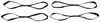 297-2STB-2 - Soft Loops ShockStrap Tie Down Straps,Ratchet Straps,Motorcycle Tie Downs,ATV-UTV Tie Downs