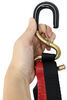 Motorcycle Tie Downs - Cam Buckle Straps with Shock Absorbers and Loop Straps - Qty 4 6 - 10 Feet Long SS6-SL14