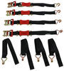 ShockStrap Ratchet Strap Motorcycle Tie Downs - 297-9RSBB-M