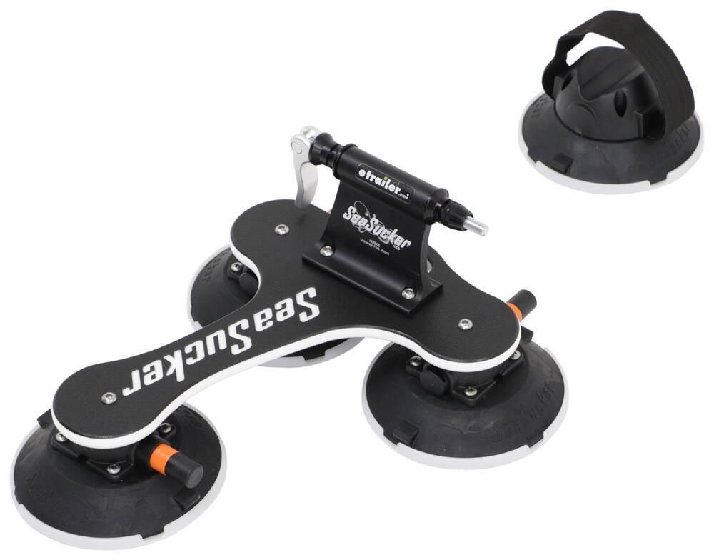 SeaSucker Talon Roof Bike Rack - Fork Mount - Vacuum Cup Mounted Black 298-BT1004