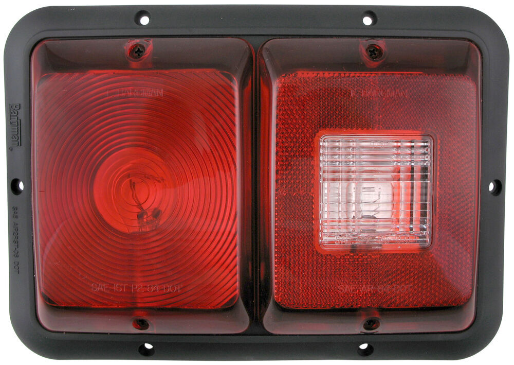 Bargman Stop/Turn/Tail/Backup,Rear Reflector Trailer Lights - 30-84-008