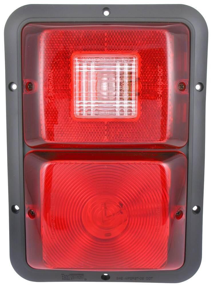 30-84-508 - 10L x 7W Inch Bargman Tail Lights