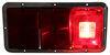 bargman trailer lights stop/turn/tail/backup rear reflector non-submersible 30-85-002