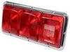 bargman trailer lights stop/turn/tail/backup rear reflector 14l x 7w inch 30-85-002