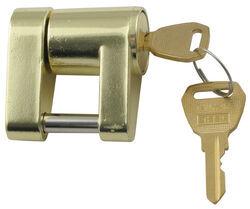 Bulldog 580403 Chrome Coupler Lock