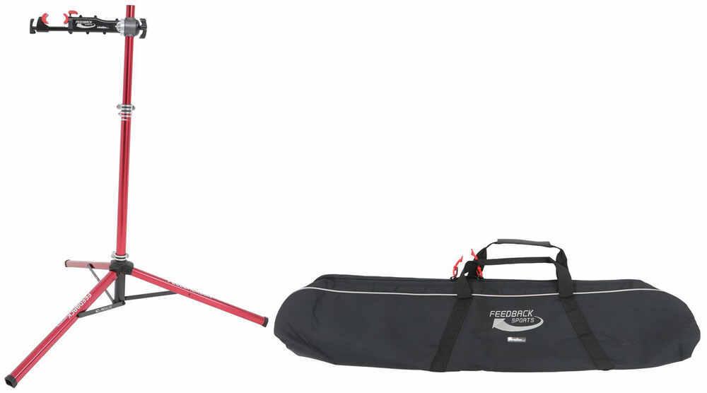 Feedback Sports Red and Black Bike Repair Stands - 301-16020