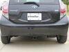 EcoHitch 200 lbs TW Trailer Hitch - 306-X7194 on 2013 Toyota Prius c