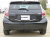 306-X7194 - 2000 lbs GTW EcoHitch Trailer Hitch on 2013 Toyota Prius c