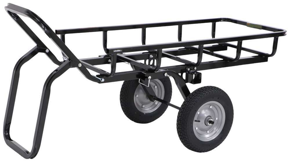 "Viking Solutions Tilt-N-Go II Hauler and Cargo Carrier for 2"" Hitches - Steel - 300 lbs Game Cart 310-VTG002"