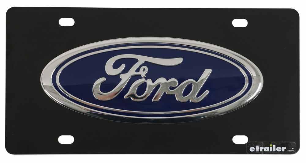 DWD Plastics Ford License Plates and Frames - 310899