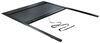 Pace Edwards JackRabbit Retractable Hard Tonneau Cover - Aluminum and Vinyl - Black Inside Bed Rails 311-JRD7833