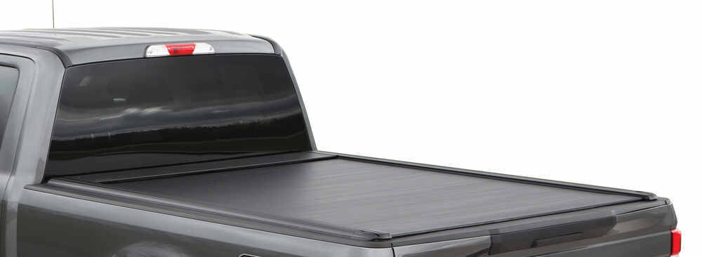 Pace Edwards UltraGroove Metal Retractable Hard Tonneau Cover - Aluminum - Matte Black Requires Tools for Removal 311-KMT5379
