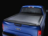 Pace Edwards Switchblade Retractable Hard Tonneau Cover - Aluminum and Vinyl - Black Aluminum and Vinyl 311-SWFA19A45
