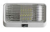 diamond rv lighting exterior light led porch and utility for rvs - on/off switch 175 lumens rectangle clear lens