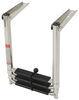 "Telescoping Transom Drop Ladder - 3 Steps - 34-1/2"" Tall - 400 lbs - Stainless Steel 34-1/2 Inch Tall 315-DMX3"