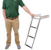 "Sliding Under Platform Pontoon Boat Ladder - 3 Steps - 34-1/2"" Tall - 400 lbs - Stainless Steel 34-1/2 Inch Tall 315-FOG3"