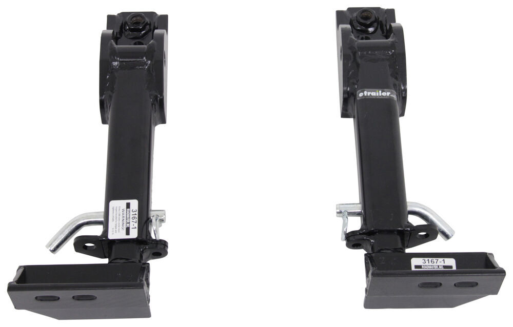Roadmaster Crossbar-Style Base Plate Kit - Removable Arms Hitch Pin Attachment 3167-1