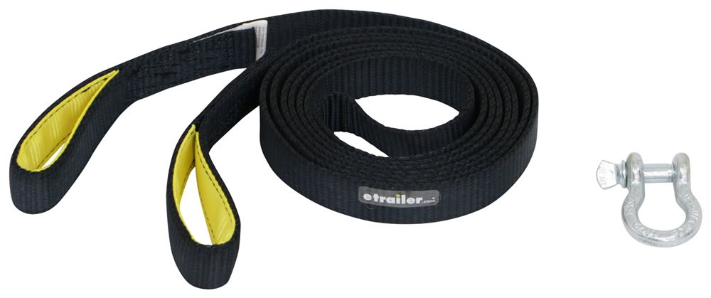 317-124500 - Light Duty ProGrip Tow Straps and Recovery Straps