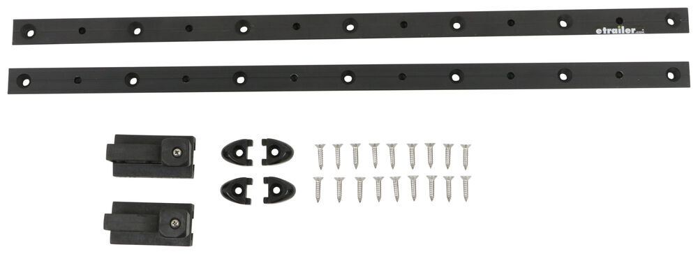 ProGrip SR Track with 2 Carriage Anchors - 2' Long - 500 lbs - Qty 2 Rail Application 317-942420