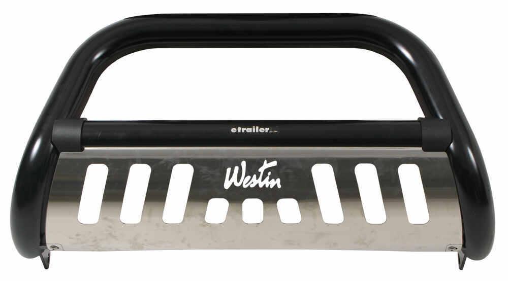 "Westin Ultimate Bull Bar with Skid Plate - 3"" Tubing - Black Powder Coated Steel Black 32-1245"