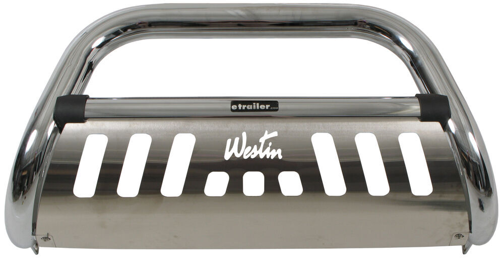 "Westin Ultimate Bull Bar with Skid Plate - 3"" Tubing - Chrome-Plated Stainless Steel Stainless Steel 32-2360"