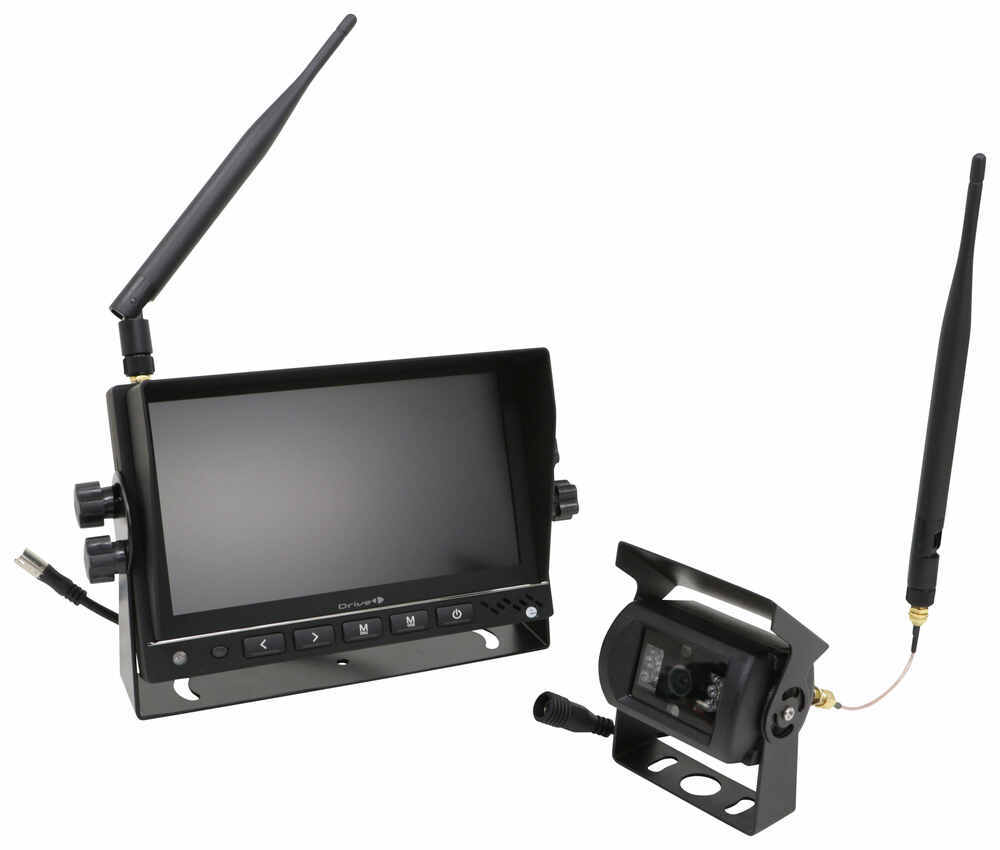 RV Camera System 324-000002 - Built-In Microphone,Night Vision,Waterproof - Way Interglobal