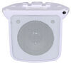 "Indoor Cube RV Speaker - Surface Mount - 4-1/2"" Wide x 3-1/2"" Tall - 20 Watts - White White 324-000003"
