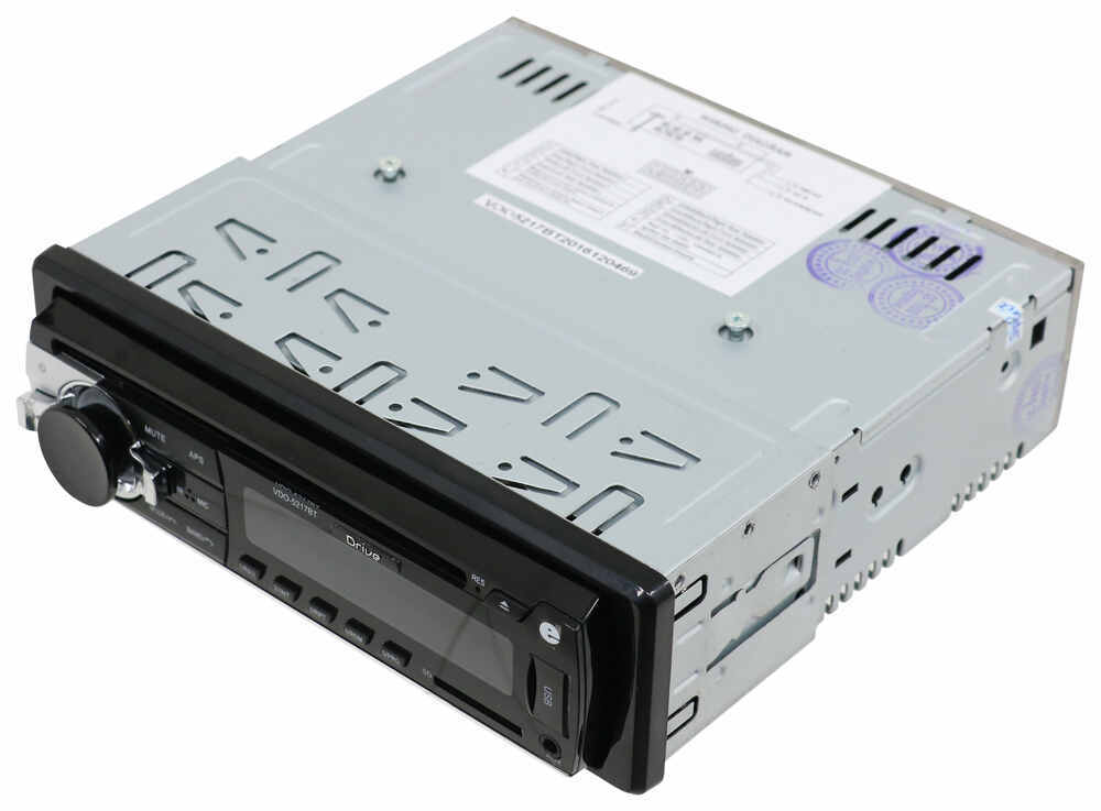 RV Stereo - Single DIN - AUX/USB, Bluetooth - 180W - 1 Zone - 12V Standard Controls 324-000031