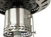 "120V RV Ceiling Fan and Light - 3 Speed - 42"" Diameter - Brushed Nickel - Black/Oak Black/Oak Blades 324-000033"