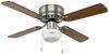 Way Interglobal Ceiling Fan w Light Kit - 324-000033