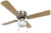 Way Interglobal Ceiling Fan w Light Kit - 324-000034